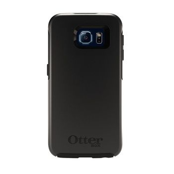 OtterBox Symmetry Series Stylish Protection Case For Samsung Galaxy S6 Black 77-51210 Retail Packaging