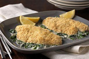 Tilapia Florentine recipe: Kraft Recipe, Dinners Tonight, Food Pictures, Tilapia Florentine, Florentine Recipe, Cod Florentine, Florentine Allrecipescom, Cooking, Cream Chee