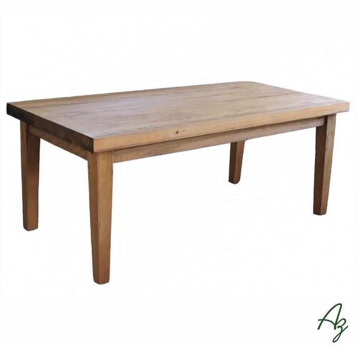 Mesa de jantar em madeira maciça, fabricada artesanalmente ✋🔨📐🌿 Az arte natural - Móveis em madeira, feitos a mão.