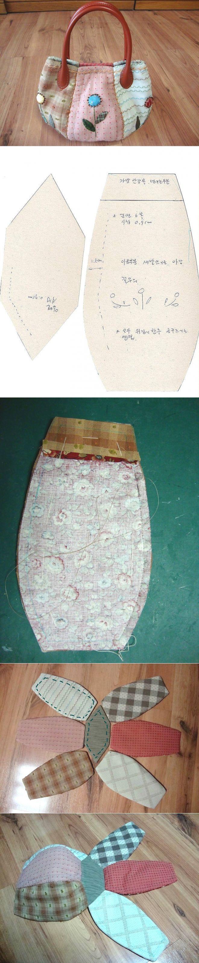 Simple Bag Quilting. Simple bag. ~