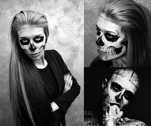 Zombie Boy Make-up by Astral Makeup!