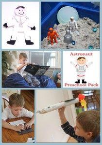 Astronaut Preschool Unit