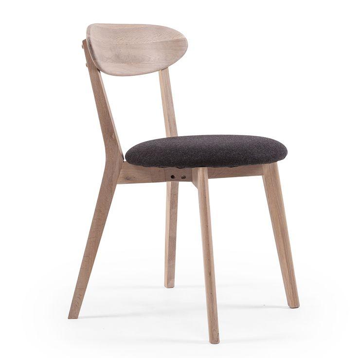 Wood Fold Spisebordstol, Hvitpigmentert Eik - Department - Department - RoyalDesign.no