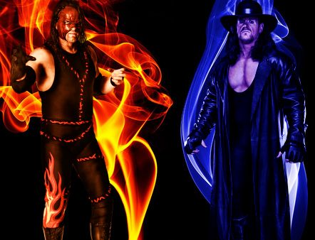 The Undertaker and Kane Brothers Of Destruction