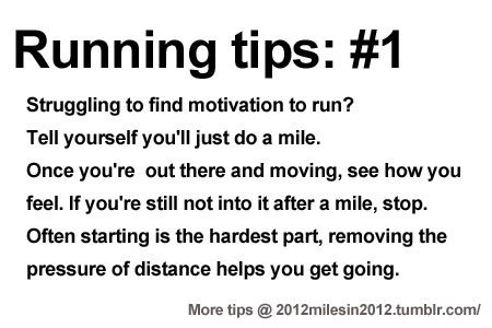Running Tips: Starting is the hardest part. Starting running or training for a marathon? Tips and help: Get more running tips and training adivce