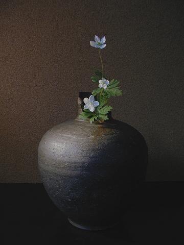 Ikebana Japanese flower arrangement