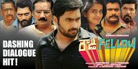 Nara Rohit, Vishaka Singh starrer Rowdy Fellow Movie Hit Wallpapers, Direction by Krishna Chaitanya, Music by Sunny MR, Rowdy Fellow dashing dialogue hit posters