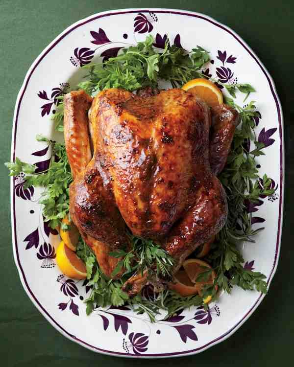 Thanksgiving turkey recipes.