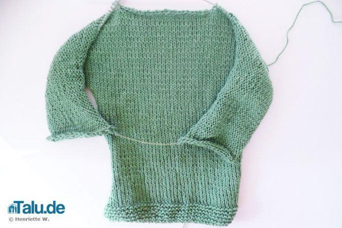 Babyjacke stricken DIY Anleitung | Babyjacke