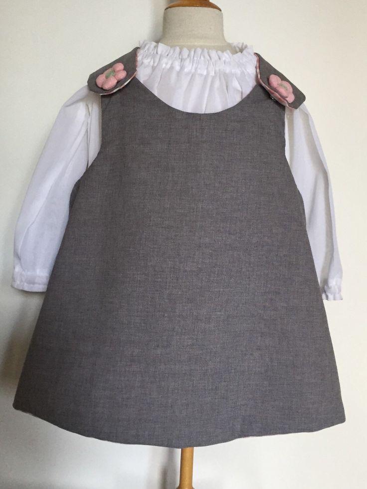 Un preferito personale dal mio negozio Etsy https://www.etsy.com/listing/211663254/vestito-grembiule-per-bambina