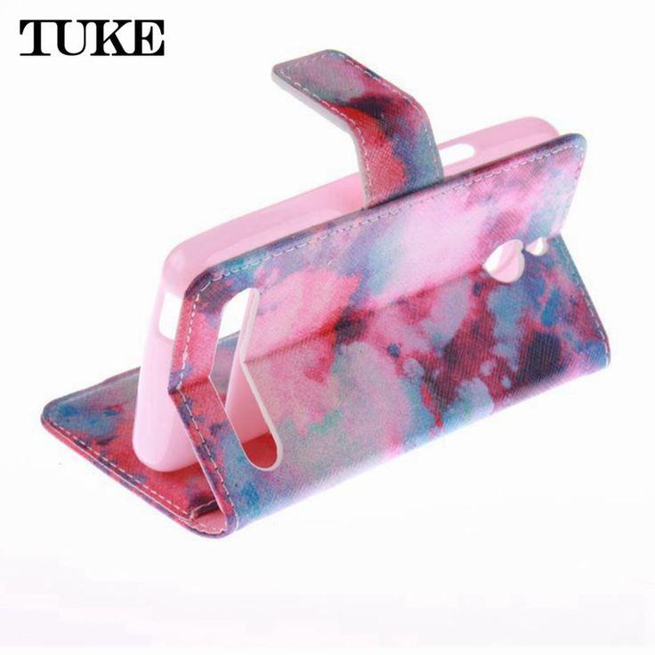TUKE HOT Colored Cover Case FOR Sony Xperia E1 D2004 D2005 E1 Dual D2104 D2114 D2105, Back Case Cover FOR Sony E1 Phone #Affiliate