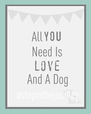 Puppy LOVE...All You Need is LOVE and a DOG :o)