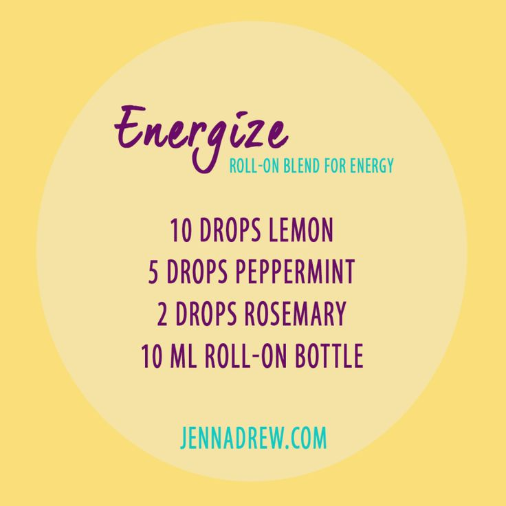 7 Essential Oils You Can Use To Feel More Energetic - Jenna Drew