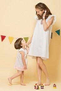 Set rochii bumbac mama-fiica