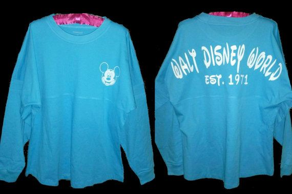 Custom Disney World Spirit Jersey