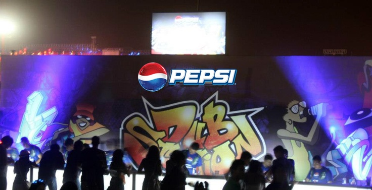 #PepsiNH7 THE STAGE! Are you there?