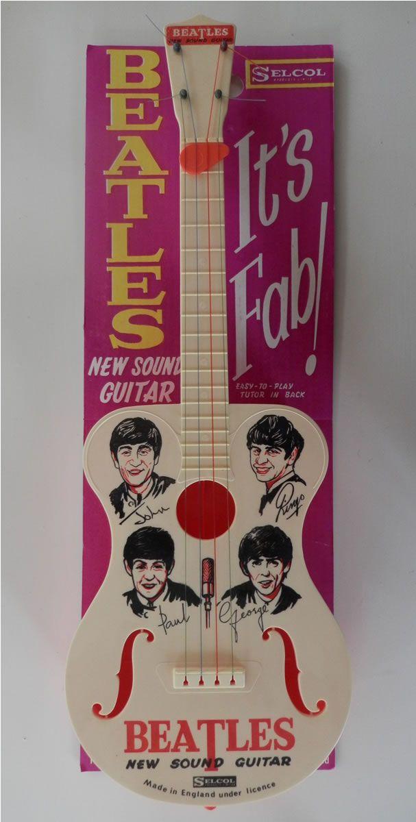 New Sound Guitar on Card--These guys were a marketing Bonanza!!! {GM}