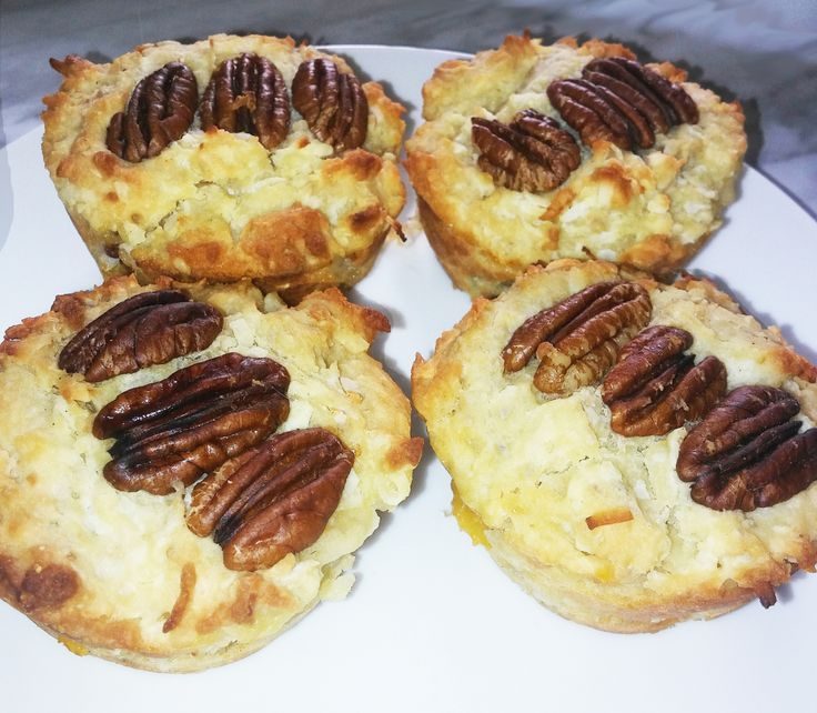 The Country Vegan- peaches, pecans and coconut-yum!
