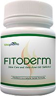 Anti-Acne & Skin Care Pills - FitoDerm Pills