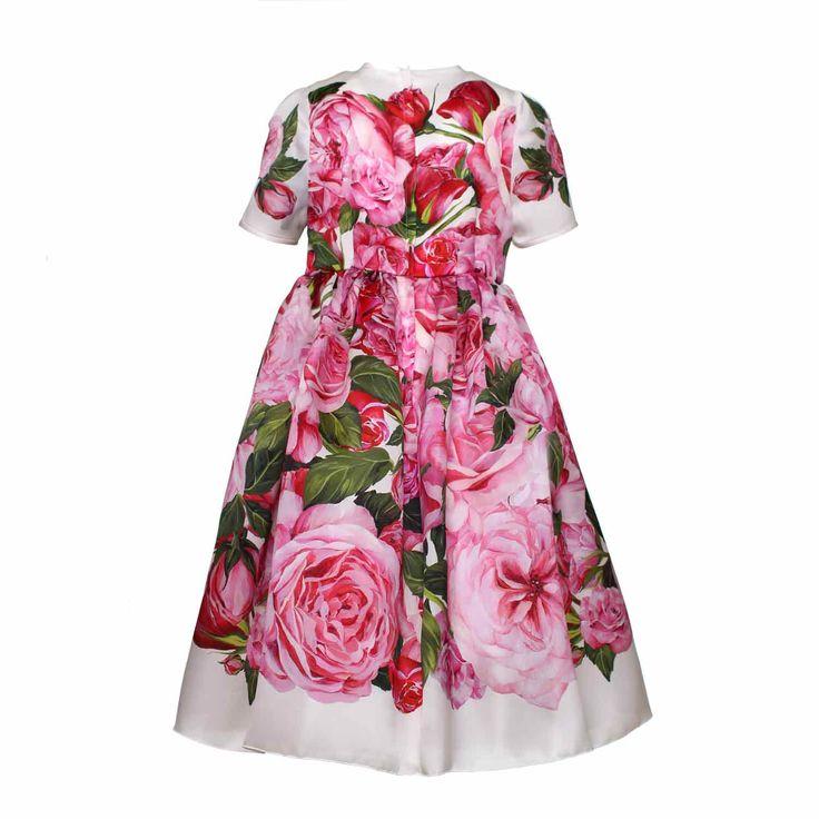 Dolce & Gabbana - Abito A Rose Bambina - annameglio.com shop online