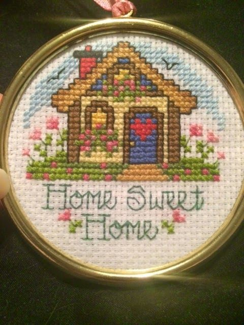 My Creative Corner: Completed Stitches
