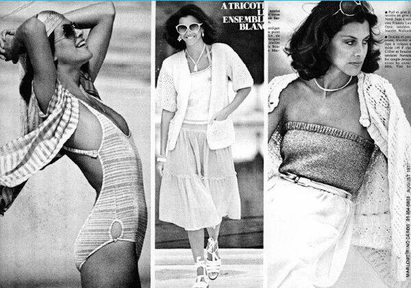 Actress Wendie Malick modeling; Glamour Paris 1977 | 1970 ...