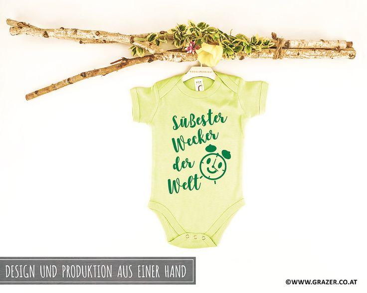 Bodys - Babybody mit Spruch | 5 - ein Designerstück von Dr_Grazer_und_Co bei DaWanda