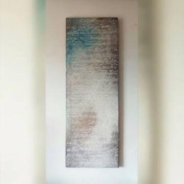 "Saatchi Art Artist Anna Russo Words Art; Painting, ""In ginocchio da te"" #art"