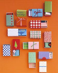 Matchbox Christmas Gifts