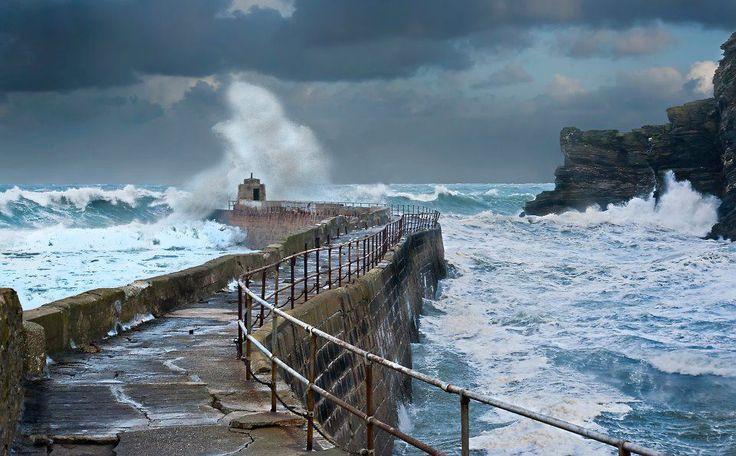 Cornish coastline  Find your dream UK travel and tourism job: http://www.traveljobsearch.com/uk