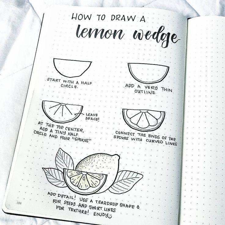 40 juicy Citrus Bullet Journal Theme Concepts