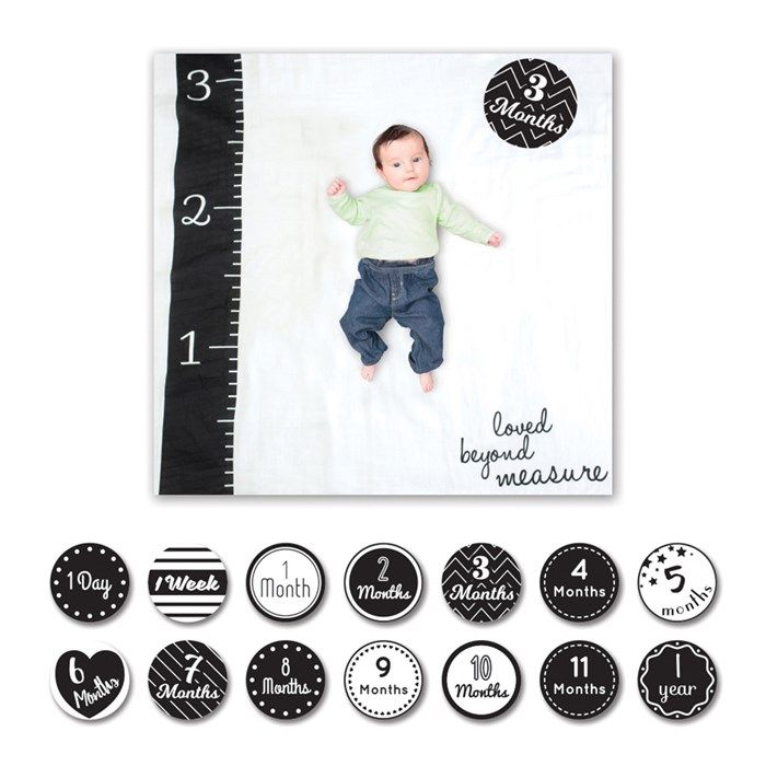 Loved Beyond Measure Baby's First Year Milestone Set | GettingPersonal.co.uk