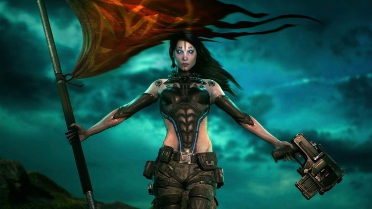 Unreal Woman Art Work Download free addictive high quality photos,beautiful images and amazing digital art graphics about Gaming Addiction.
