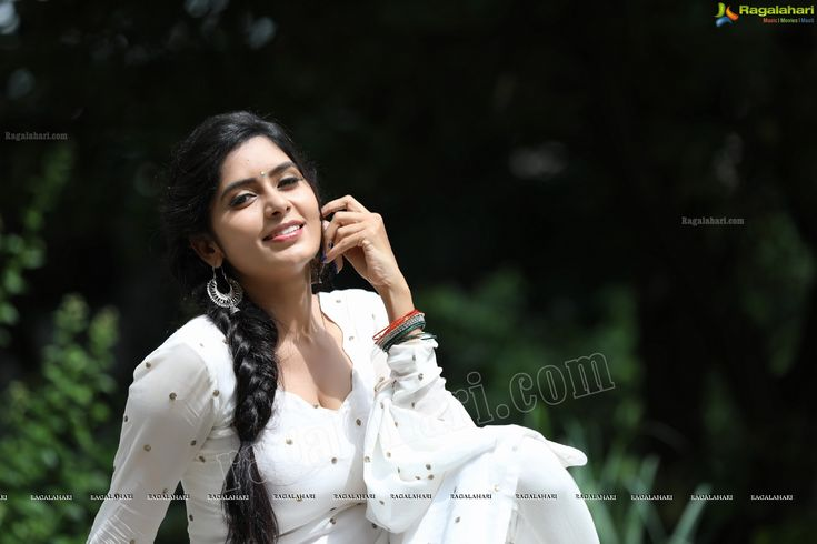 Check Out Exclusive Photos of Beautiful Indian Film Actress Madhumitha Krishna in White Punjabi Dress | Tollywood Actress Images