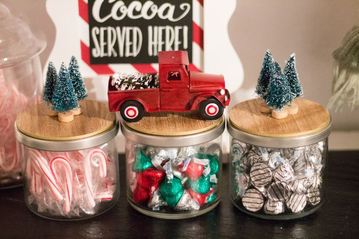 Candle Candy Jars DIY