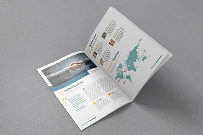 A4 Free Brochure Mock-up