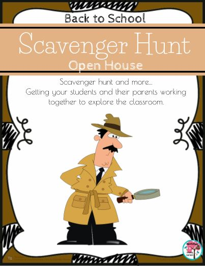Great editable classroom materials @teachersherpa Back to School is going to be so much fun with this Back to School Scavenger Hunt! This scavenger hunt activity is great for Back to School Night or Open House and will get your students and their parents interacting with one another. This Back to School activity includes: suggested response sheet and blank template, just in case you want different clues), printables for Conference, Parent Partner (volunteer) and Guest Reader sign...