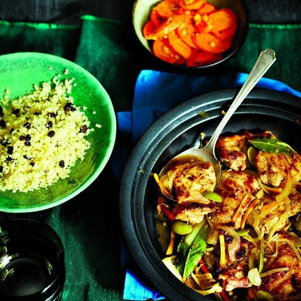 Chicken tajine with oranges and olives | 10 tasty chicken-thigh recipes