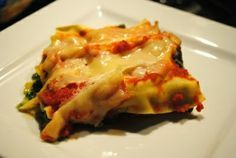 LASAGNES EPINARDS TOMATES RICOTTA WEIGHT WATCHERS