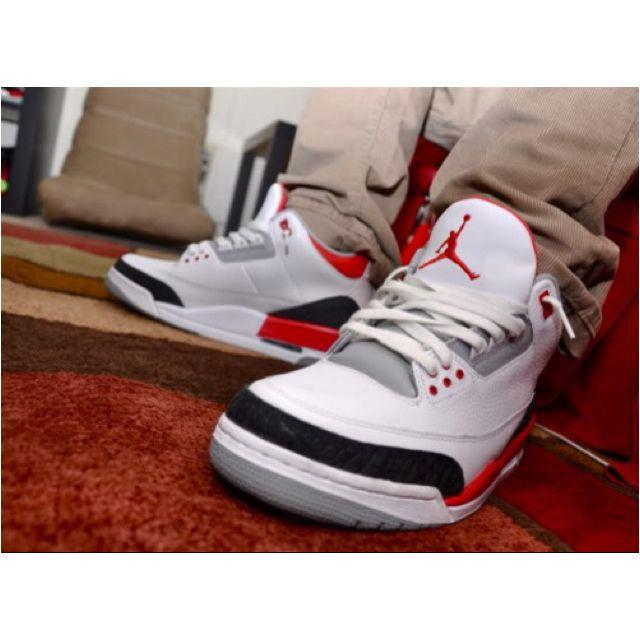 Retro Jordan III ..cnt wait, my next pair of 3's