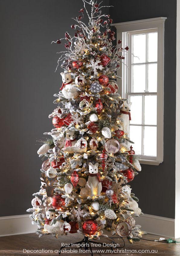 mejores 23 im genes de tendencias para decorar tu arbol de navidad 2016 2017 en pinterest. Black Bedroom Furniture Sets. Home Design Ideas