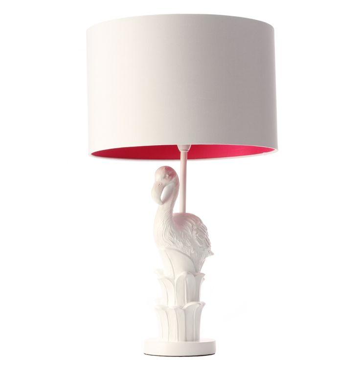 Flamingo Table Lamp - Matt Blatt