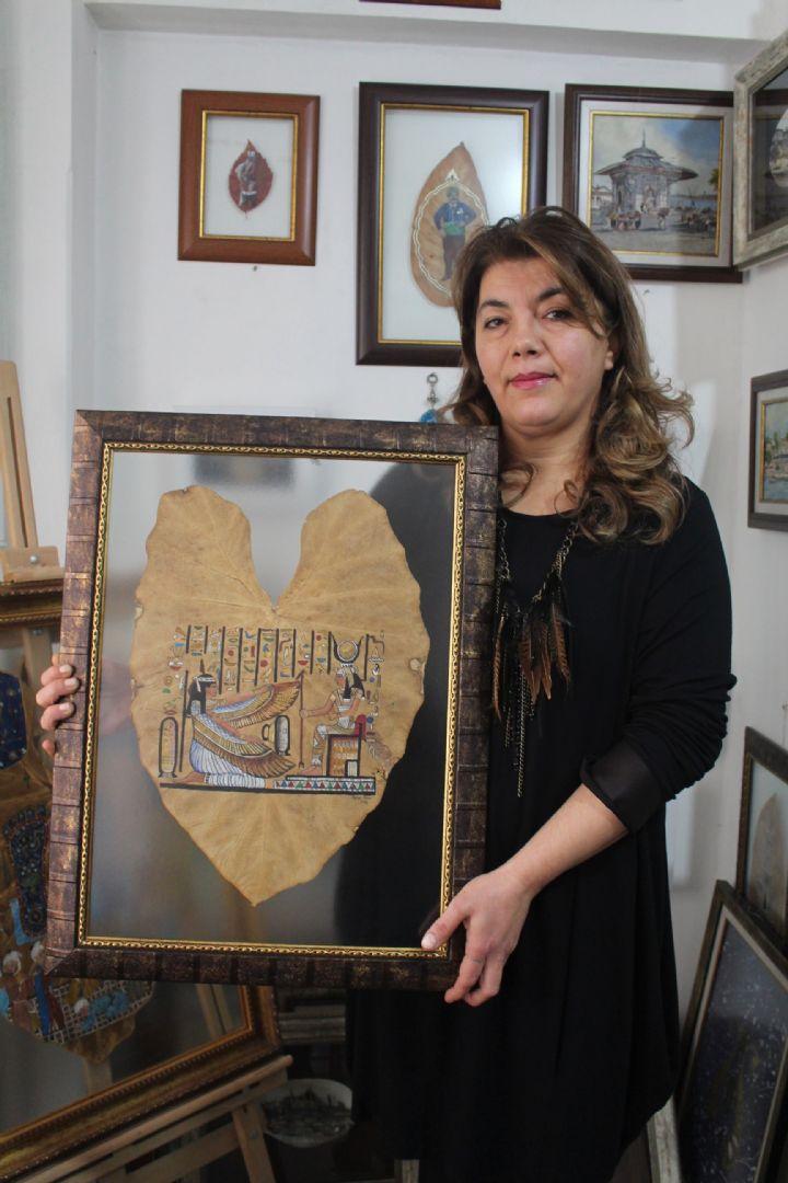 Minyatürü 'yaprak, kuş tüyü ve istiridye kabukları'na taşıdı - Balıkesir Yeni Söz Gazetesi   Balıkesir Haber  Balıkesir Haberleri   Balıkesir Gazete