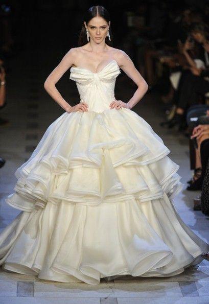 zac posen wedding gowns 2013
