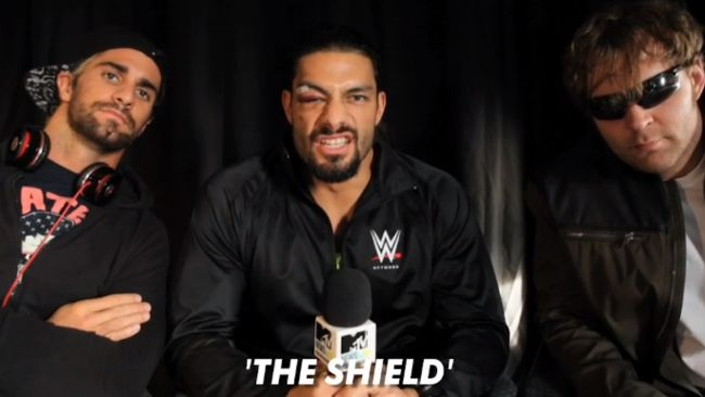 MTV News Meets WWE's The Shield! | MTV UK