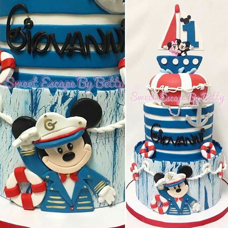 Nortical Mickey cake