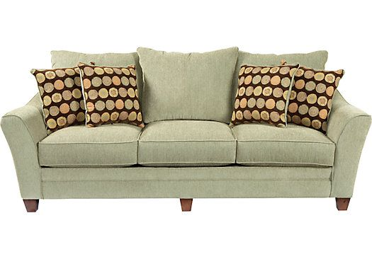 Shop For A Palmdale Green Sofa At Rooms To Go Find Sofas