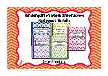My Interactive Student Notebook for Kindergarten Bundle that currently includes: Interactive Student Notebook Numbers to 5 Interactive Student Notebook Numbers to 10 Interactive Student Notebook Numbers to 20 Interactive Student Notebook Addition Interact