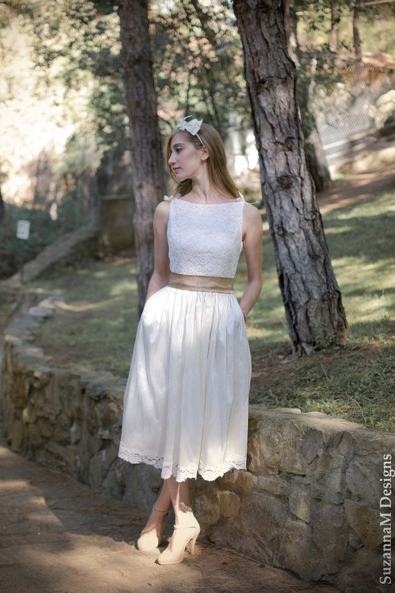 Ivory 50s Wedding Dress Original 50s Style by SuzannaMDesigns, €525.00