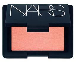 NARS Orgasm. Looks amazing one all and every skin tone. A must in the makeup bag. Many have tried to recreate it cheaper, but nothing comes close to this gorge color!
